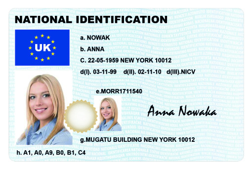 ID CARD Type I_avers