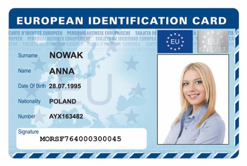 Kolekcjonerska karta European ID jest wyjątkową formą podziękowania za wkład w rozwój Polski dzięki funduszom unijnym.