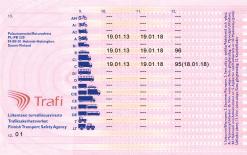 Kolekcjonerskie prawo jazdy z Finlandii pozwoli Ci poczuć się jak muzyk metalowej kapeli lub szofer św. Mikołaja.
