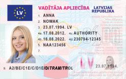 Kolekcjonerskie prawo jazdy z Łotwy nawet w żartach nie pozwoli Ci dogonić reprezentacji Polski w piłce nożej.