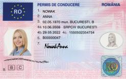 Kolekcjonerskie prawo jazdy z Rumunii da Ci siłę do pokonywania tysięcy kilometrów bez snu, zupełnie jak kierowcy ciężarówek.