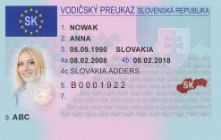 Kolekcjonerskie prawo jazdy ze Słowacji przypomni wycieczki do południowych sąsiadów, które owocowały zakupem lentilków i czekolady studenckiej.