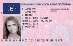 Kolekcjonerskie prawo jazdy z Hiszpanii sprawi, że na drodze poczujesz się jak prawdziwy torreador na corridzie.
