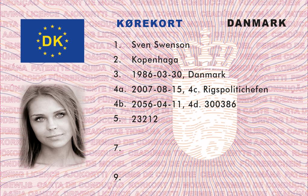 Dokumencik Driving Danish – Licence