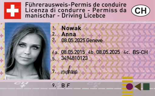 Kolekcjonerskie prawo jazdy ze Szwajcarii na pewno jest lepszym prezentem, niż kawałek aromatycznego sera z dziurami.