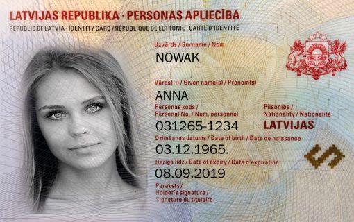 Kolekcjonerski dowód osobisty z Łotwy jest idealnym prezentem dla wszystkich miłośników ziemniaków z których słynie Łotwa.