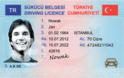 Kolekcjonerskie prawo jazdy z Turcji może nie zapewni Ci darmowego kebaba, ale będziesz się mógł przedstawiać jako potomek sułtana.