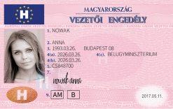 Kolekcjonerskie prawo jazdy z Węgier jest idealnym prezentem dla wszystkich miłośników przyjaźni pomiędzy Polską i Węgrami.